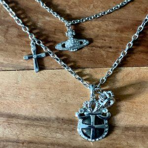 Vivienne Westwood Jewelry - 🌈🌈Vivienne Westwood Multi-Charm Necklace + BONUS